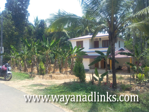 15 Cent Plot with 2700 sq.ft Double Storied House for Sale at Kenichira
