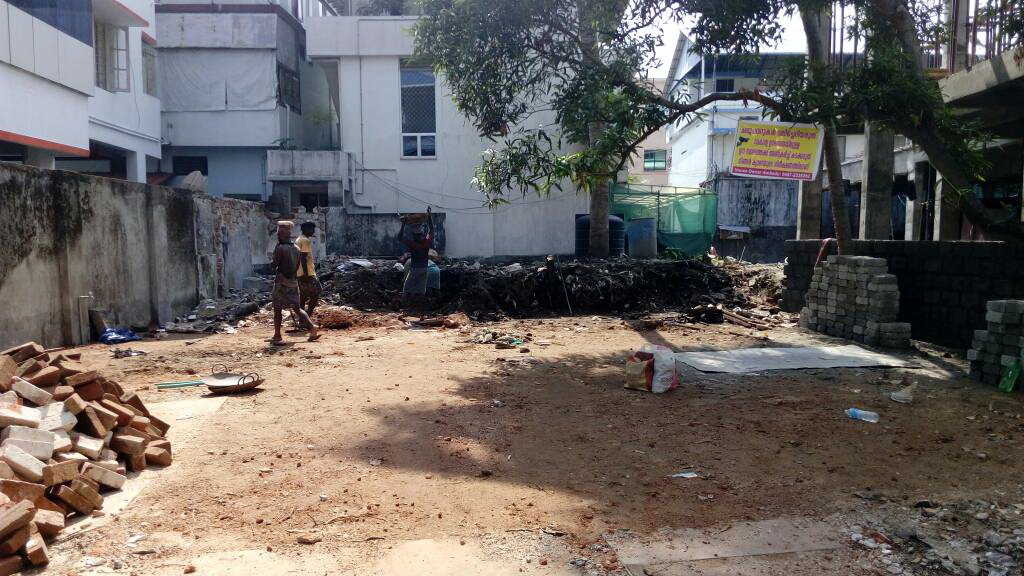 6 Cents Square Plot For Sale in St. Benedict Road, Ernakulam North, Kochi