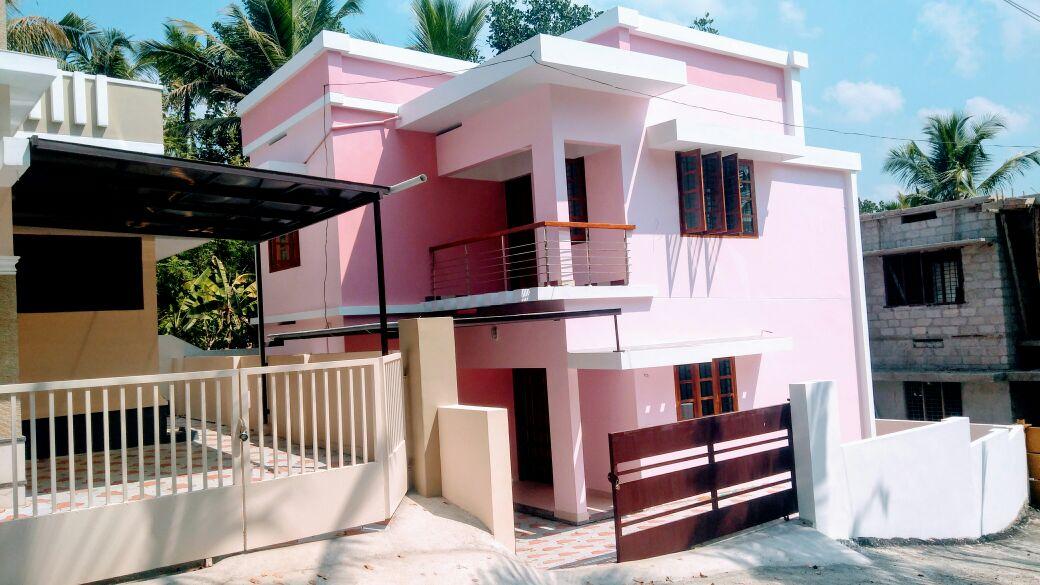 New House for Sale  Near Techonopark Karyavattom, Thiruvanathapuram with Price Rs. 57.50 Lakh