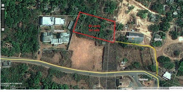 85 Cents Plot for sale near Parassinikadavu Muthappan temple, Kannur