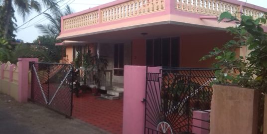 7 Cent Land with 4 BHK House for Sale at Changanacherry