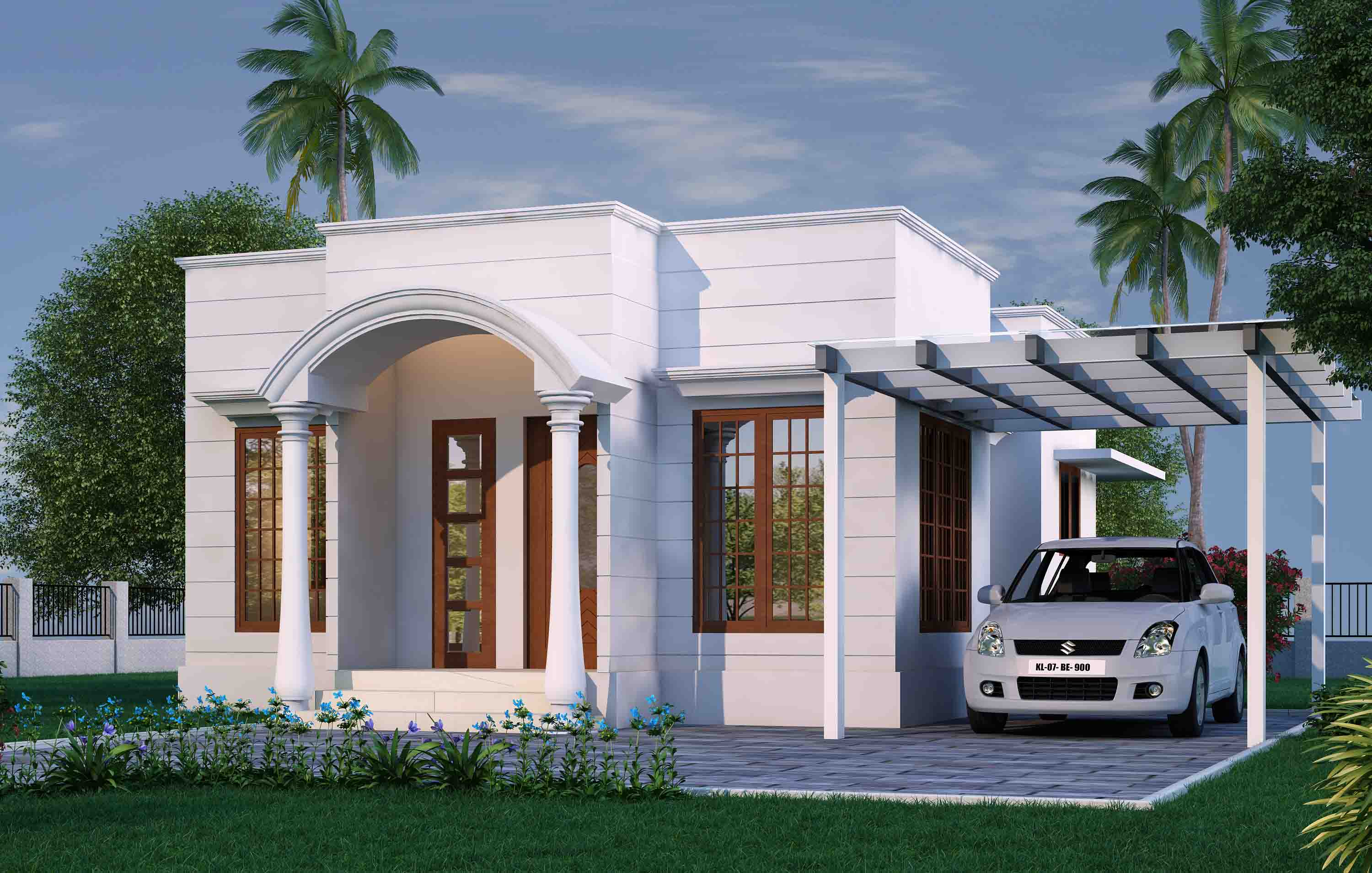 Villas  for Sale in Palakkad Near Kalpathy-Chathamkulam Kalpathy River View