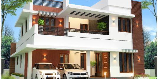 3 BHK Villa for Sale for Rs.75 Lakh at Kakkanad, Kochi