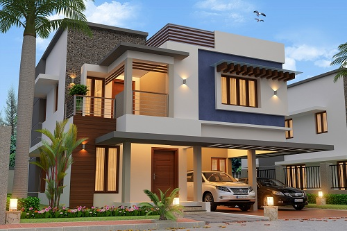 3 BHK Villa for Sale in Maradu, Ernakulam For Rs.1.2 Crore