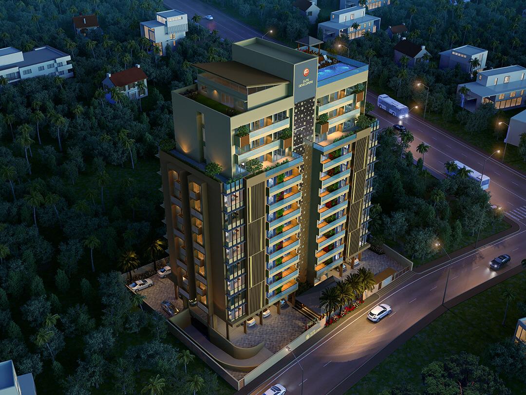 Elite Insignia Patturaikkal 3 BHK Apartment, Thrissur