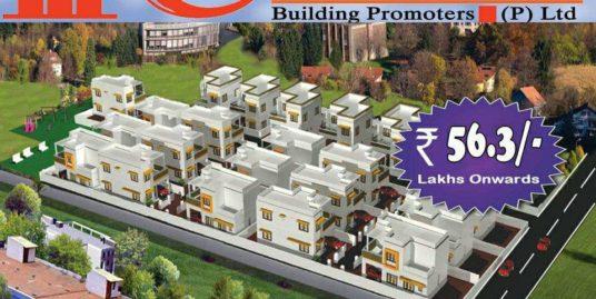 Chothys East Avenue Villas For Sale at Chittamukku Near Kazhakoottam, Thiruvananthapuram