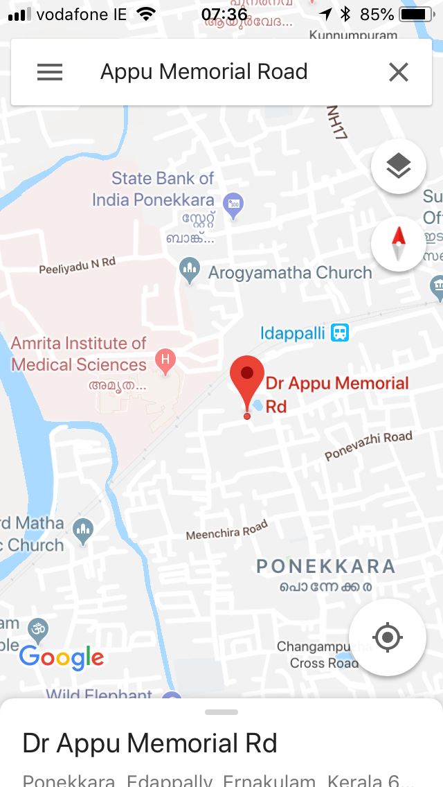 20 Cents Land with House (3000 sq.ft) in Ponekkara, Edappally, Kochi