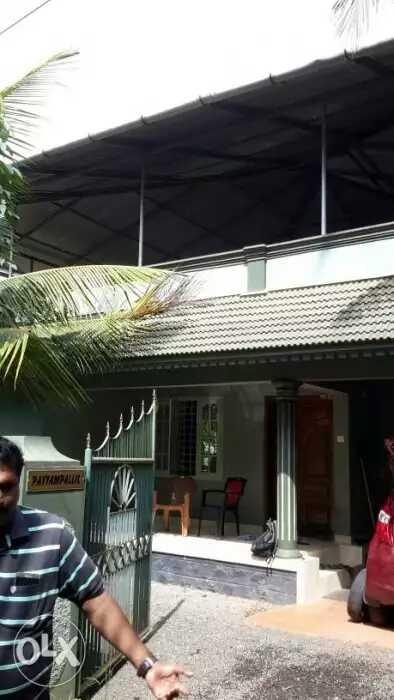 10 Cent Land, 3BHK, 2000 sq.ft House For Sale at Thrickodithanam, Kottayam