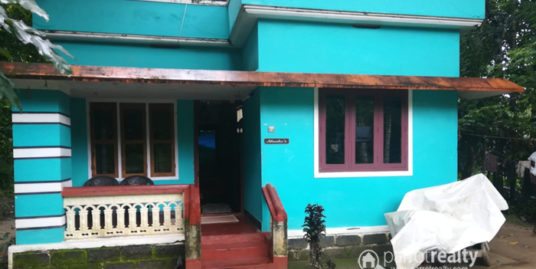 5 Cent Land With 2 BHK House for Sale at Poothikkad, Manichira, Wayanad