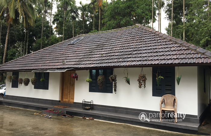 Excellent Land with 3 BHK House For Sale In Irulam, Wayanad @ 22 lakh/acre
