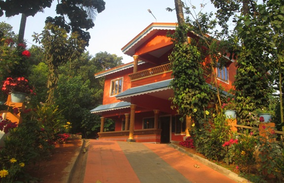 1 Acre 35 Cent Land with 2400 Sq.Ft Two Storied House For Sale in Amalagiri, Idukki