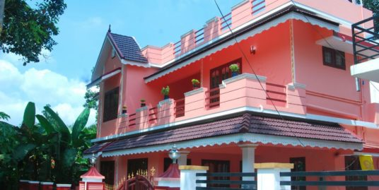Brand New 3BHK Home for Sale in Thengana, Changanacherry