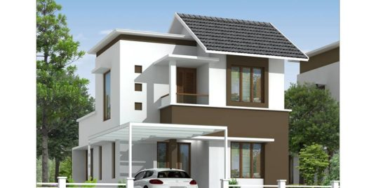 La Verna Parambil Bazar,  3 & 4BHK Villas For Sale At NGO Quaters, Vellimadukunnu, Kozhikode