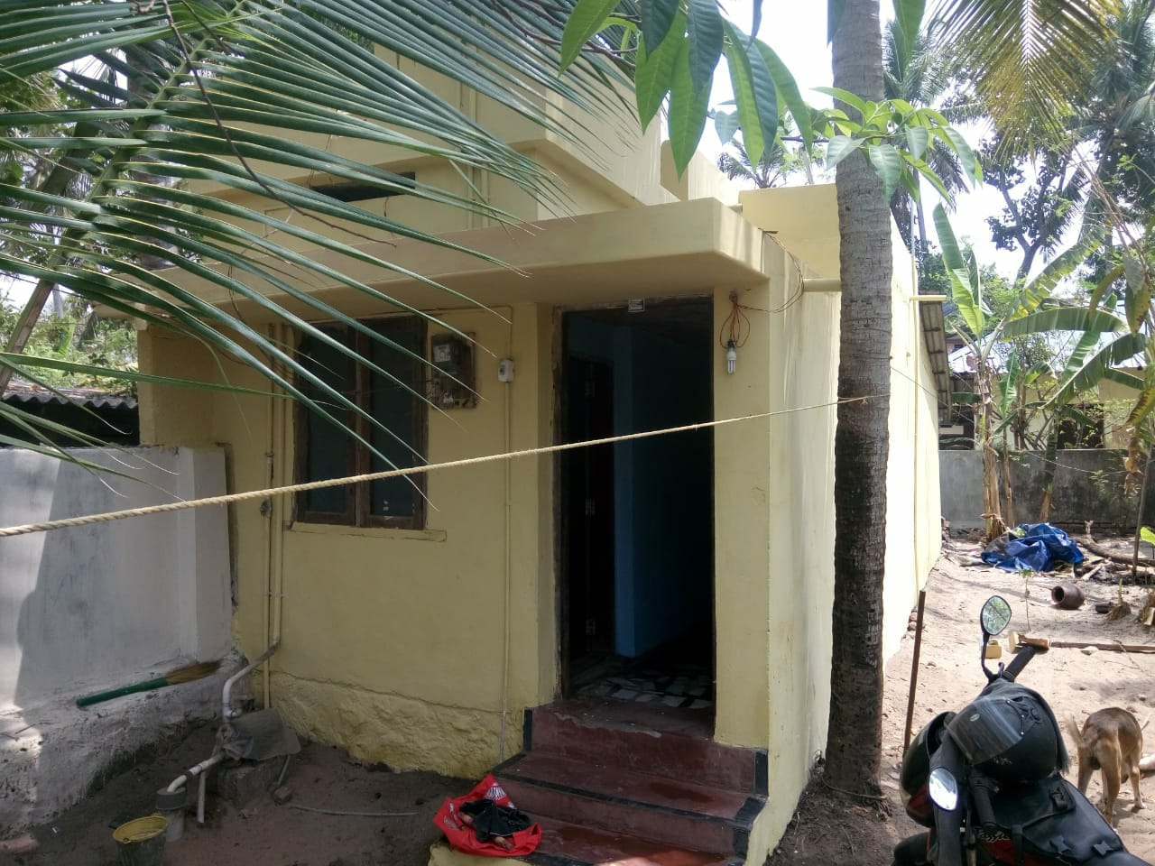 2 Cent with 1 BHK House For Sale at Karikkakom, Beach PO, Thiruvananthapuram
