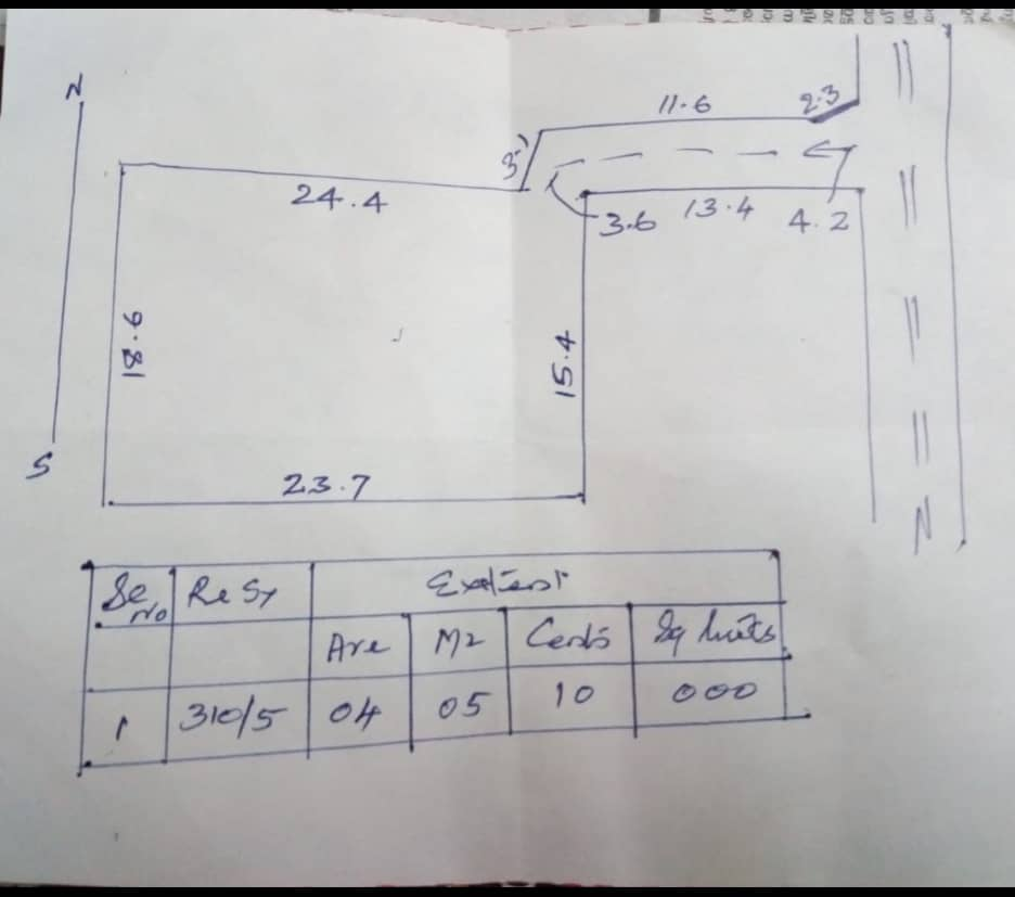 10 Cent Square Residential Plot For Sale at  Chowara , Aluva