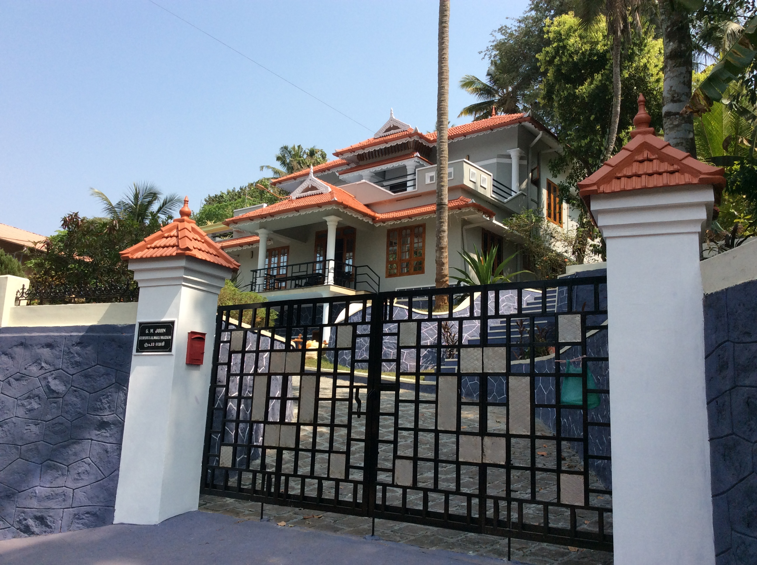 3000 Sq.ft. Luxury House in 45 cents plot For Sale In city of Thiruvalla