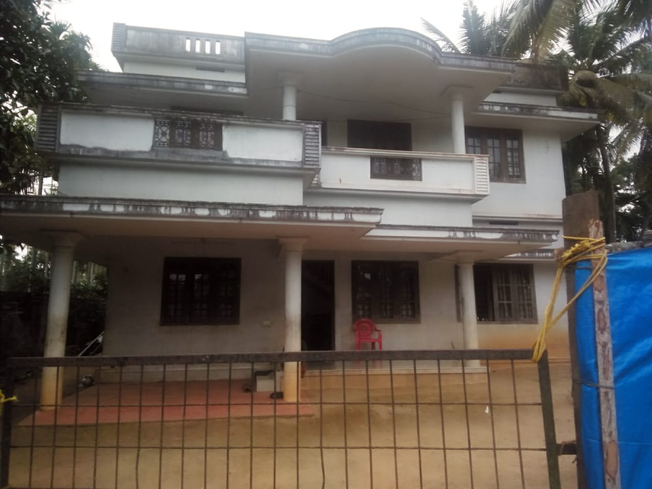 22 cents of Developed Land With a New Two -Storied House for Sale at North Paravoor, Cochin