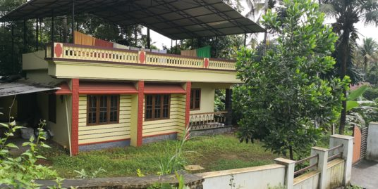 House, Villa with 25 cents Land For Sale at Karukutty near Adlux Conventional Center, Kochi
