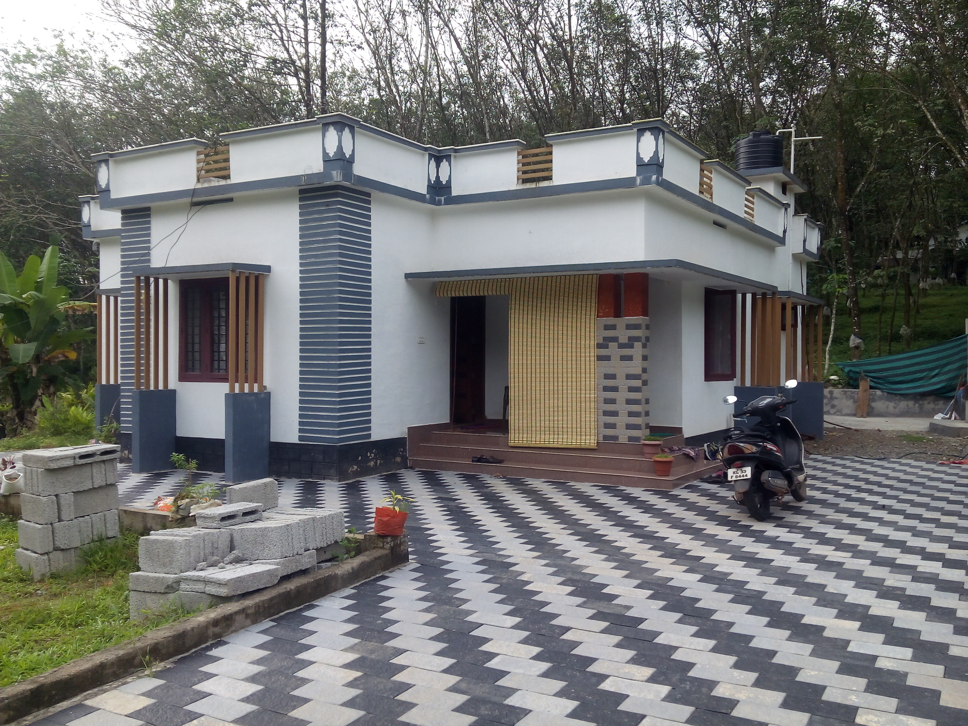 Small Stylish House For Sale at Karukachal, Kottayam