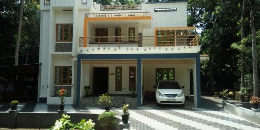 4BHK House on 20 Cent Plot for Sale in Malakunnam, Kottayam