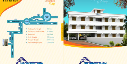 Residential Building With Five 3 Bedroom Apartments For Sale Near Kodungallur Temple