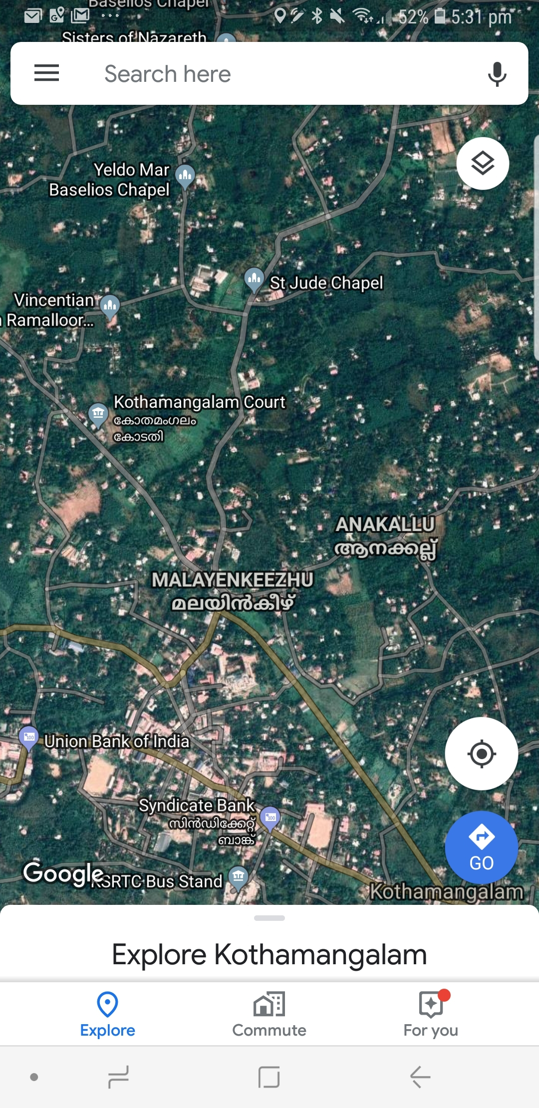 3 Acres Land For Sale – 2 km from Kothamangalam Town