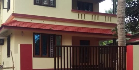 2  Storied House in 12 Cent For Sale at Edathua, Kuttanad