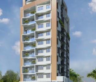 2 and 3 BHK Apartments for Sale at Thirikkakkara Sea-port Airport Road,Near Naipunya Public School