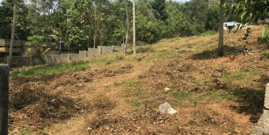 50 Cent Residential land near to proposed Nemom Railway Yard