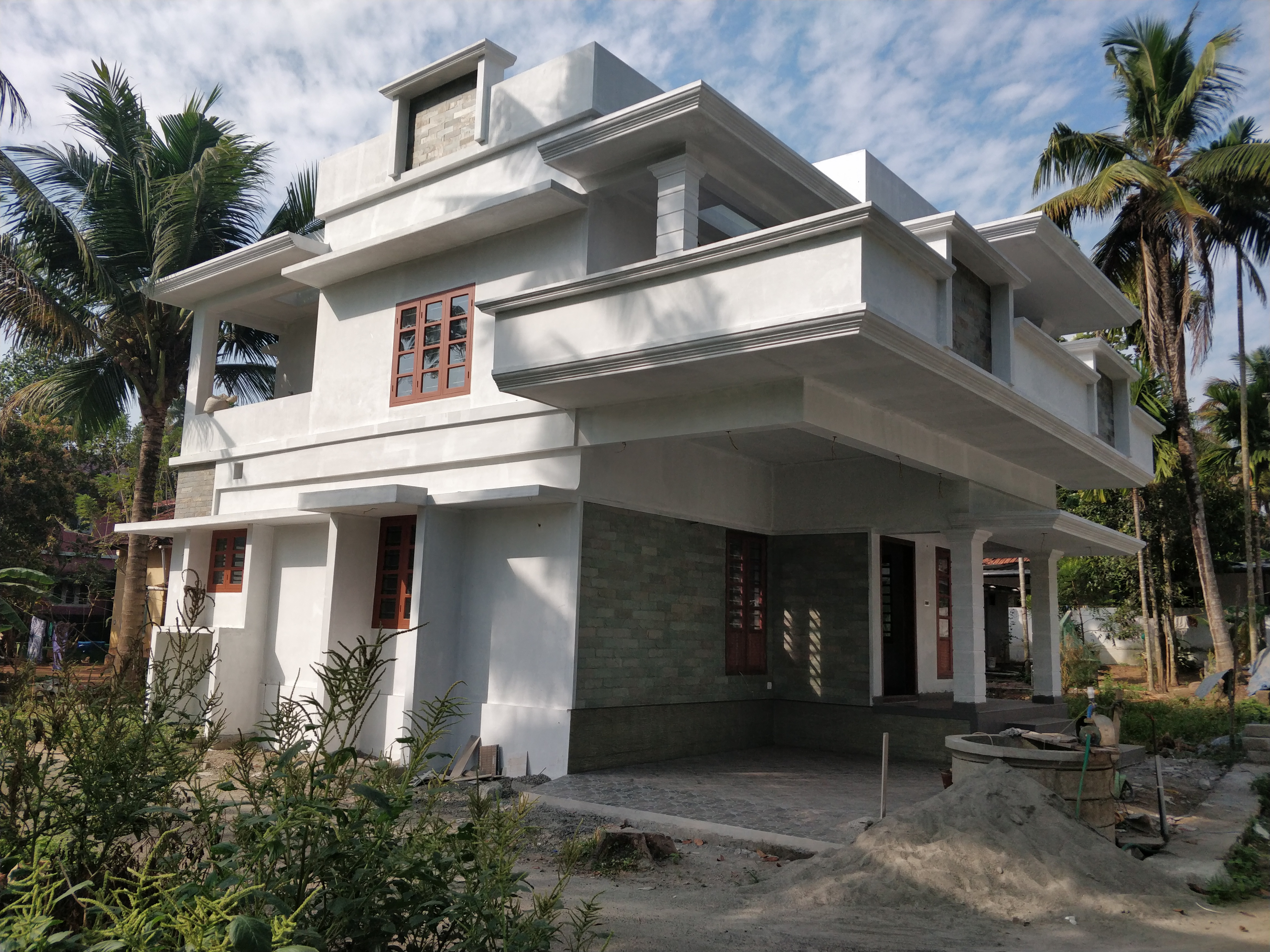 Residential House 1800 sqft. in 3 Cents for Sale Near Manjummel, Edappilly