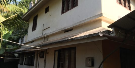1200 sqft House and  9.5 Cents Land for Sale in Ponnukkara, Thrissur District