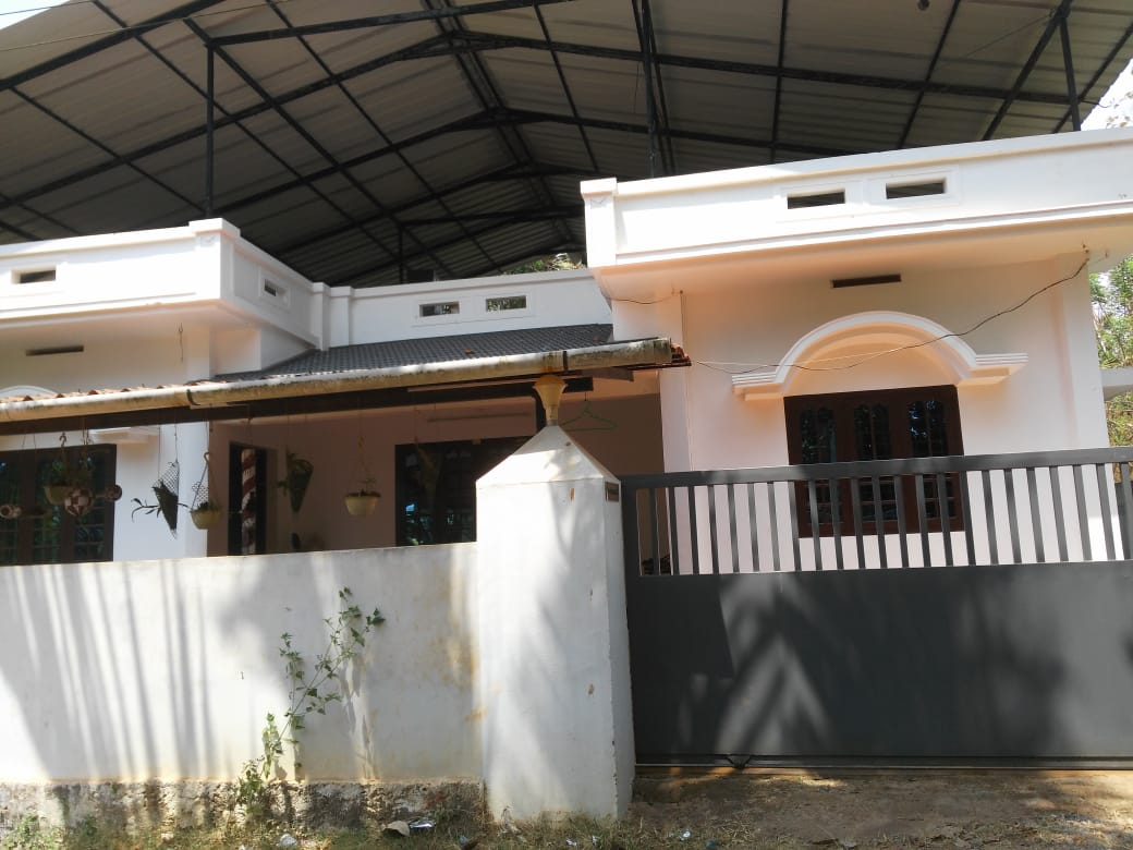 1200 sqft 3BHK Independent House for Rent Near Vellangaloor, Thrissur