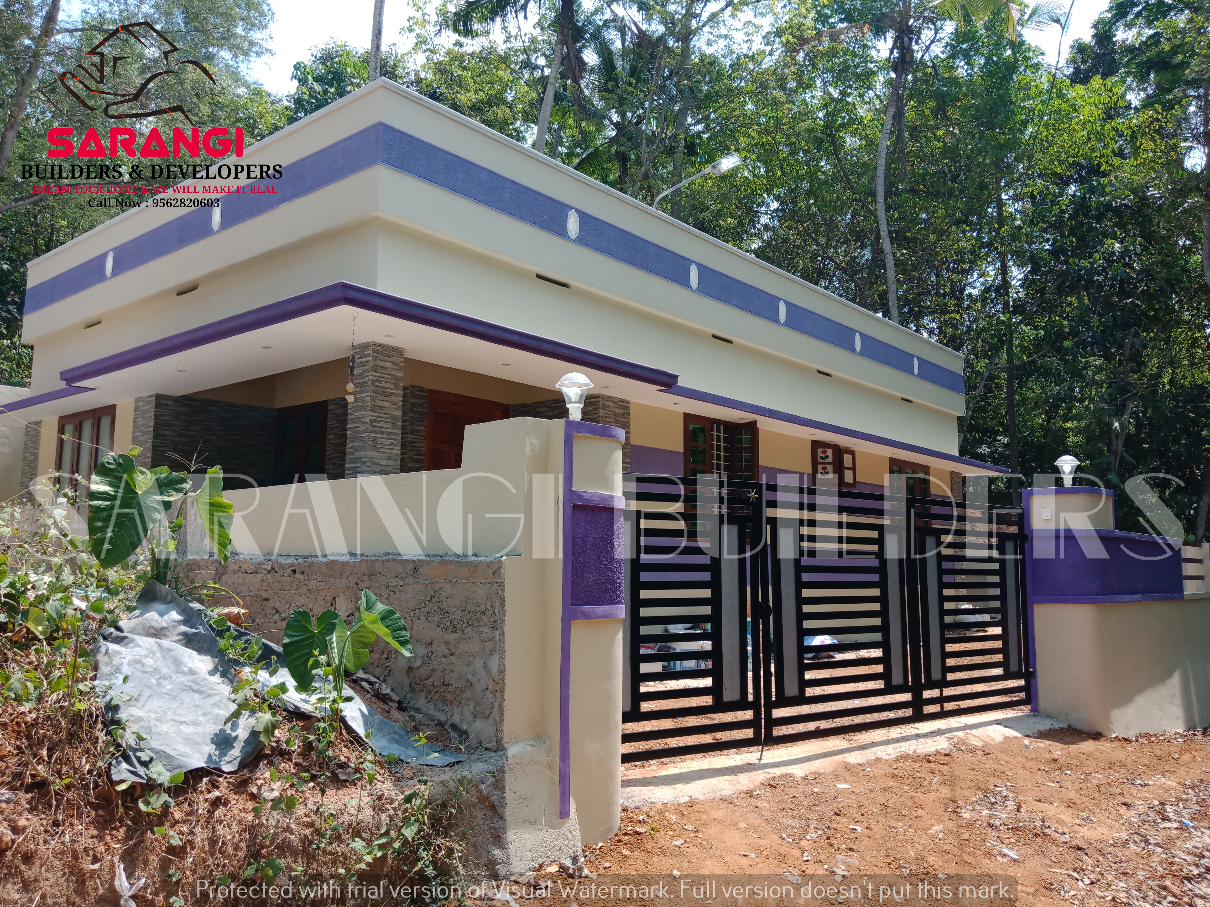 5 Cents 1045 Sqft 2 BHK  House For Sale at Near Malayinkeezhu, Thiruvananthapuram.