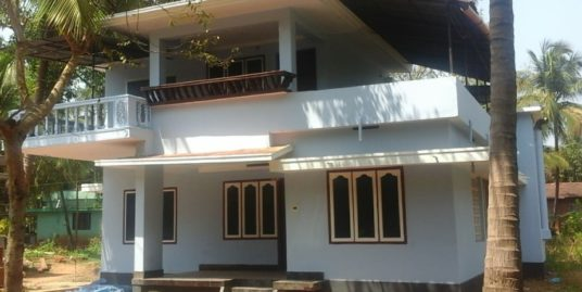 12.5 Cents and 3 Bedroom House for Sale at Azheekode, Kannur