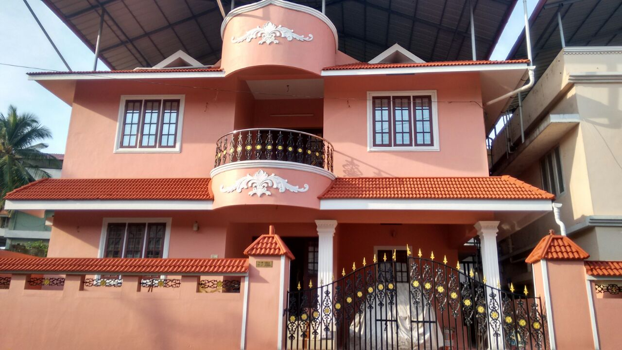 4 Bedroom hall kitchen balcony terrace car parking for sale at Ramakrishnannagar, kakkanad, kochi