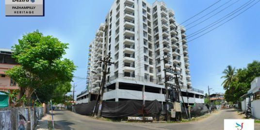 3 BHK Residential Flat For Sale at Dezira Pazhampilly Heritage located at Marine drive extension, Kochi