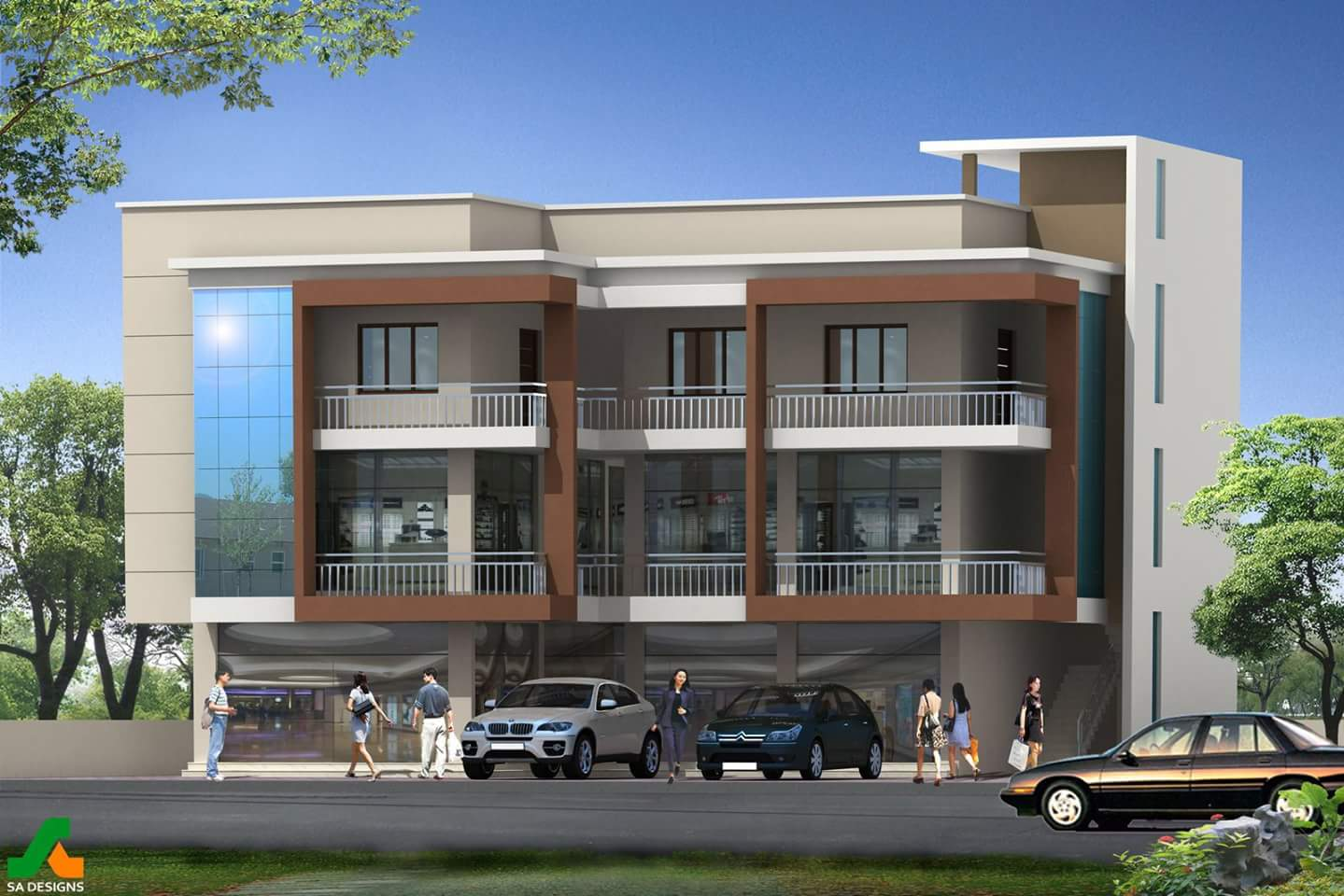 Ahamed Square near KSRTC Bus Stand Palakkad for Sale