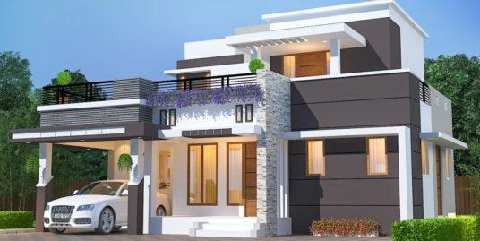 Vasthu Based 3BHK villa for sale upon completion