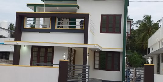 Villa for sell meanamkulam near kazhakuttom
