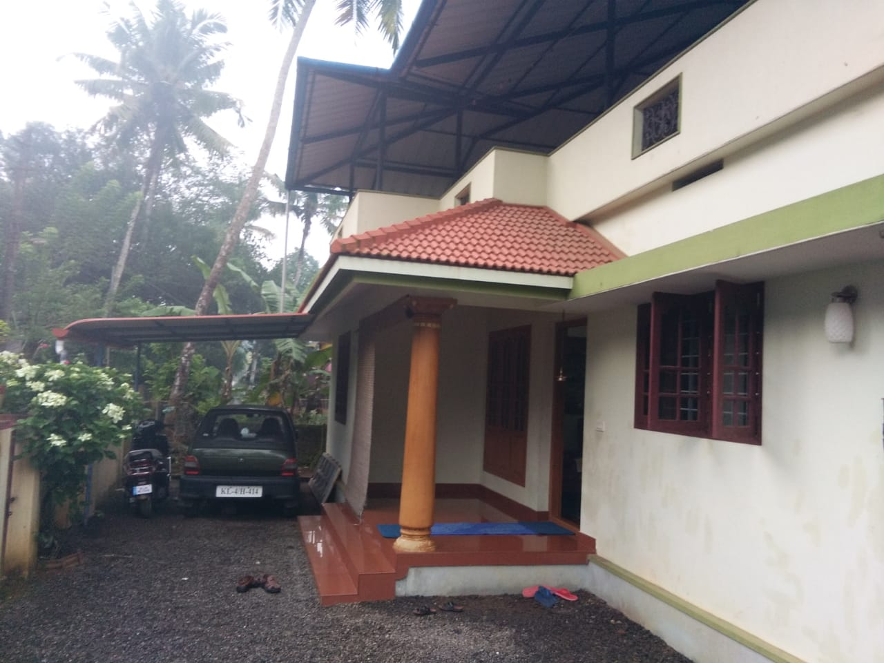 6 cents land with 3 BHK house for sale at Kochi