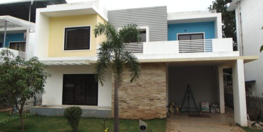 3 bedroom villa on 5 Cents of land for Sale at Thrissur, kerala.