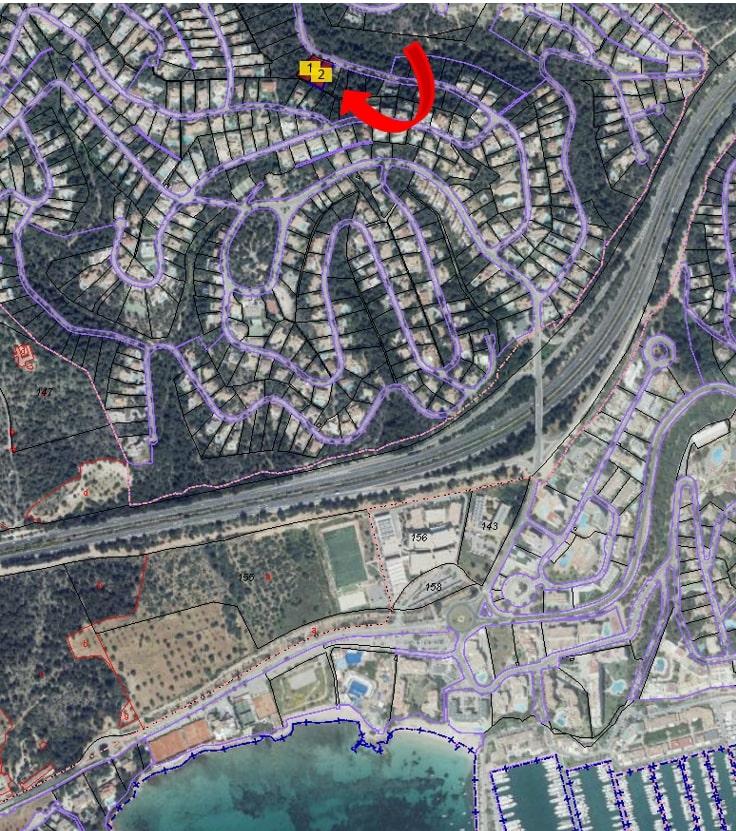 EXCLUSIVE – 2 PLOTS IN COSTA D'EN BLANES, MALLORCA 367,500€ EACH