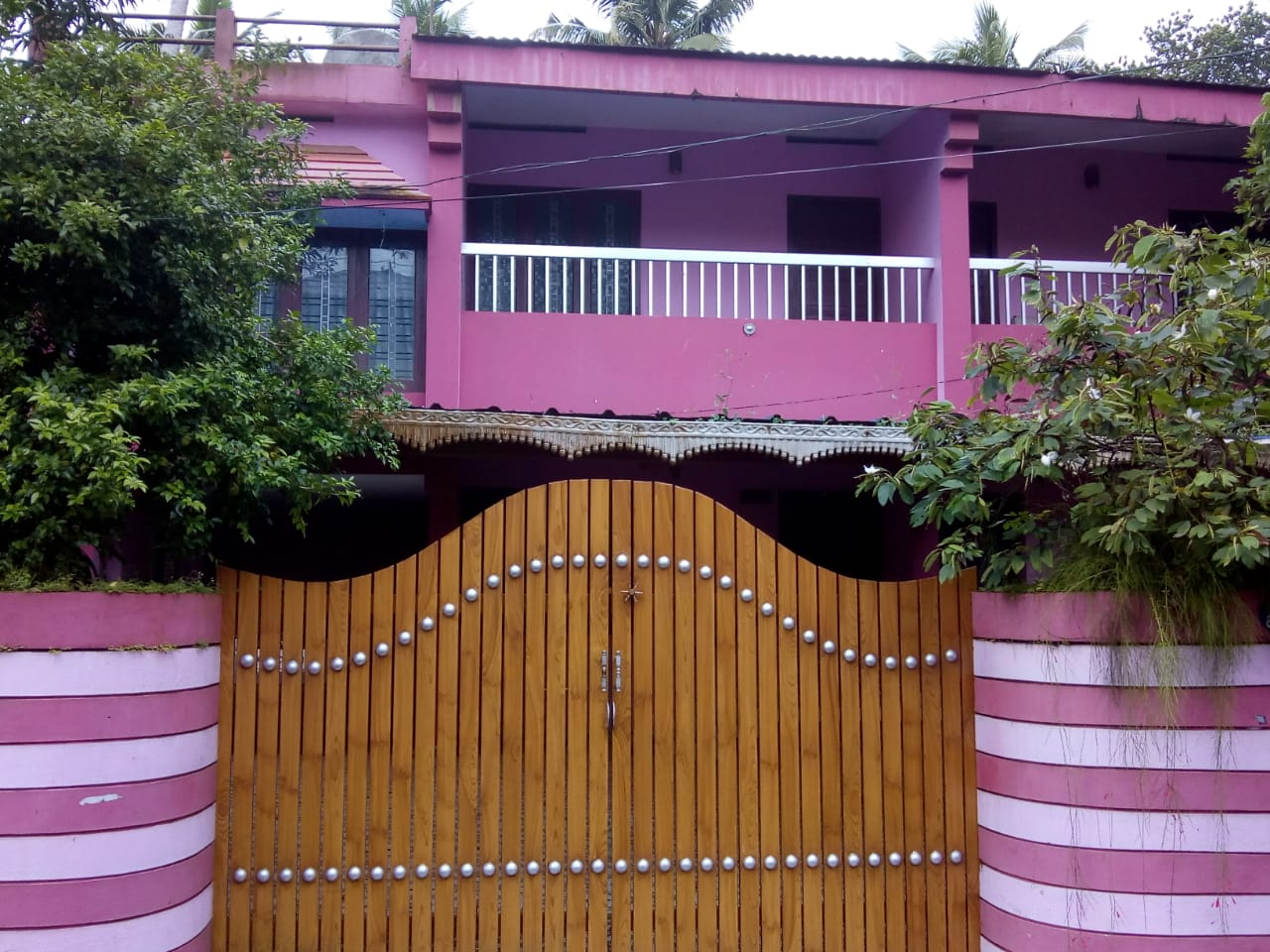 2500 sqft house in 8.5 Cents Land For Sale at Attingal