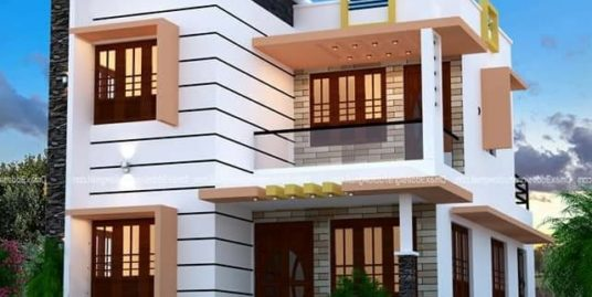 3 bhk double story fully furnished  house at heart part of kizhakkambalam for Sale