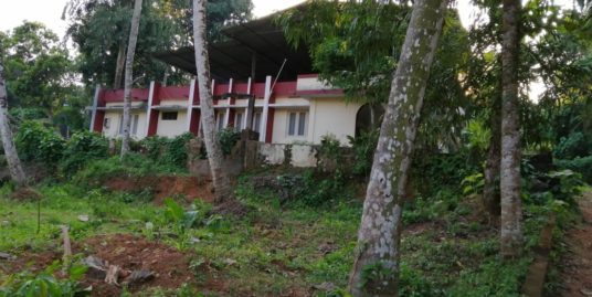 16 Cents of land with 2000 Sq Ft House for sale at Njekkuvally, Kuttazpuzha, Thiruvalla.