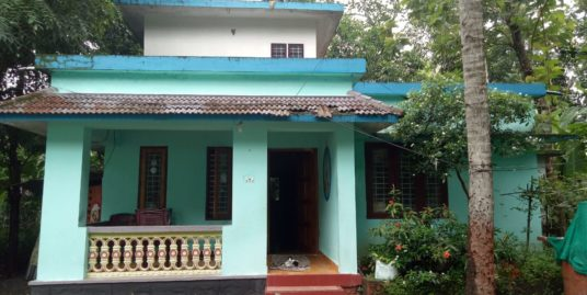 6 Cents property with 2BHK house for sale at Pandalam