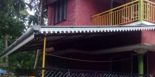 2 Storied 3 bedroom new house for sale at Chempu market junction, Tripunithura – vaikam road for only 23 lakhs