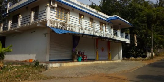 Commercial Shop with Go down attached Furnished New House For Sale at Anchal, Kerala,Nettayam 691306, India