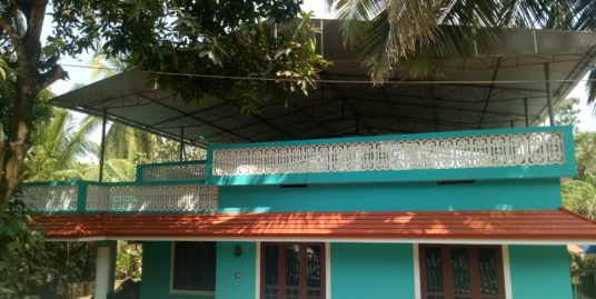 3 BHK Residential house on 8.5 cents For Sale near Thrissur medical College, Thrissur