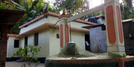 17സെന്റ് സ്ഥലവും വീടും വിൽപ്പനക്ക് (കൊട്ടാരക്കര)താമരക്കുടി – ഒഴുകുപാറ, Thamarakudy